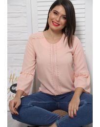 Bluza - kod 0629 - 4 - roze