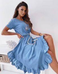 Haljina - kod 11893 - plava
