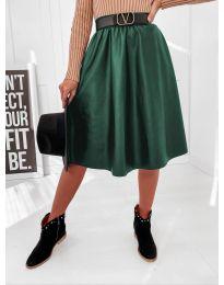 Suknja - kod 6767 - tamno zelena
