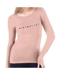 Bluza - kod 3337  - 1 - roze