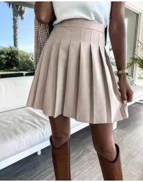 Suknja - kod 8116 - bež