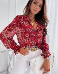 Košulja - kod 1417 - 1 - crvena