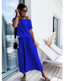 Haljina - kod 4151 - plava