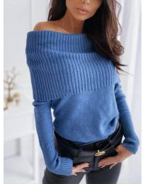Bluza - kod 3507 - plava