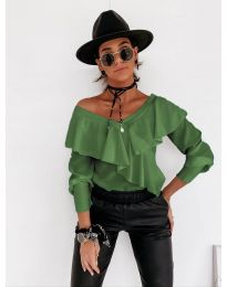 Bluza - kod 6030 - zelena