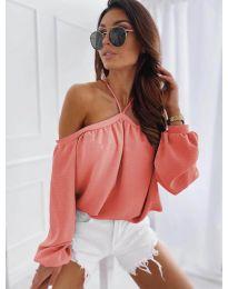 Ženska bluza u boji koralja - kod 6561