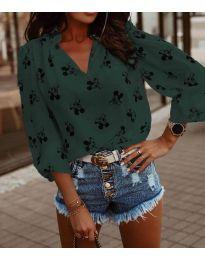 Bluza - kod 6650 - maslinasto zelena