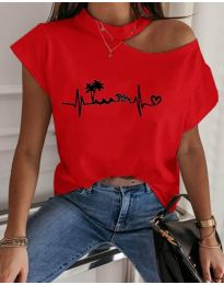 Majica - kod 206 - crvena