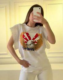 Majica - kod 1436 - 1 - bijela