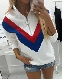 Bluza - kod 7890 - 1 - bijela
