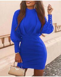 Haljina - kod 4016 - plava
