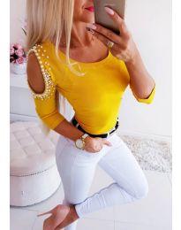 Bluza - kod 3272 - žutа