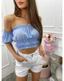 Bluza - kod 1162 - svijetlo plava