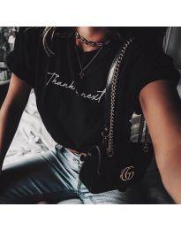 Majica - kod 3582 - crna