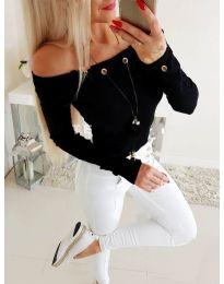Bluza - kod 3572 - crna