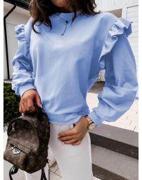Bluza - kod 6613 - svijetlo plava
