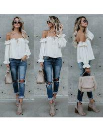 Bluza - kod 5574 - bijela