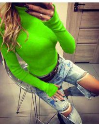 Bluza - kod 5256 - zelena