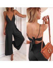 Stilski ženski kombinezon u crnoj boji - kod 720