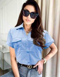 Košulja - kod 0627 - 4 - svijetlo plava