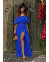 Haljina - kod 3336 - tamno plava