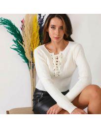 Bluza - kod 6365 - bijela